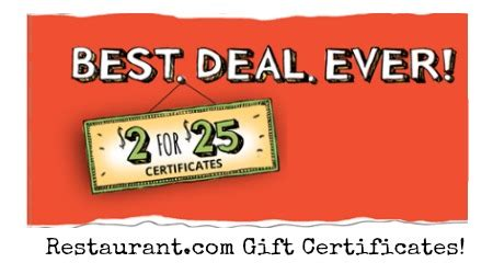 Printable Restaurant Gift Cards - coupon database and printable code mega deals and coupons