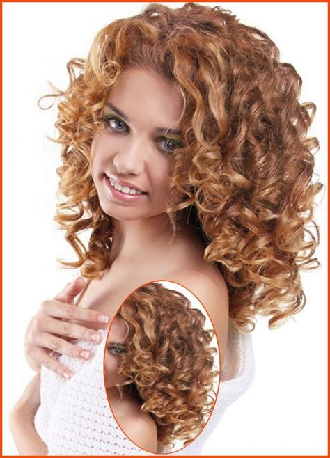 Medium Curly Hairstyles With Bangs by Curly Medium Length Hairstyles With Bangs Nail And Hair