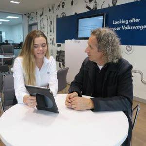aftersales digital reception volkswagen pioneers a new