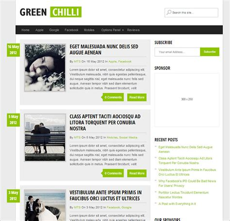worpress template top 10 best free responsive premium themes for 2015