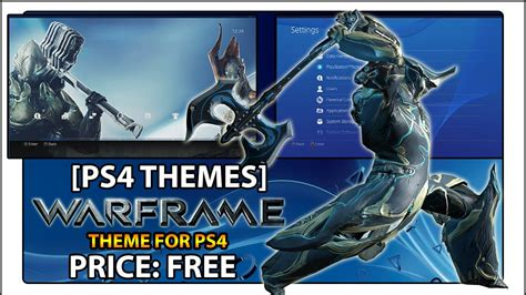 ps4 themes not working ps4 theme warframe youtube