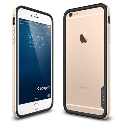 Sgp Neo Hybrid For Iphone 6 Plus Gold spigen neo hybrid ex metal iphone 6 plus chagne gold mobilezap australia