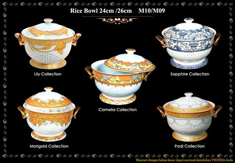 Vicenza Bowl Set dinner set dapur cantik