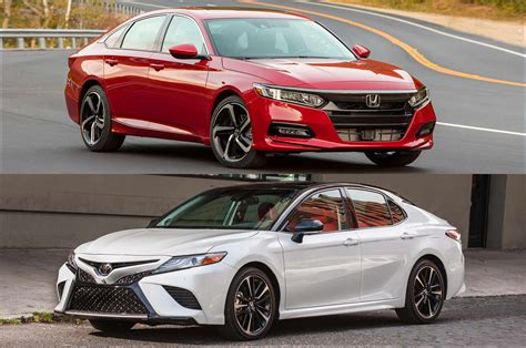 Honda Accord Or Toyota Camry Refreshing Or Revolting 2018 Honda Accord Vs Toyota