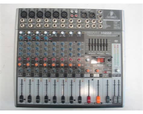 Mixer Behringer X1222usb behringer xenyx x1222usb mixer usato suonostore