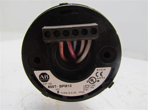 allen bradley  bpm cm pole mount base stack light wjunction box
