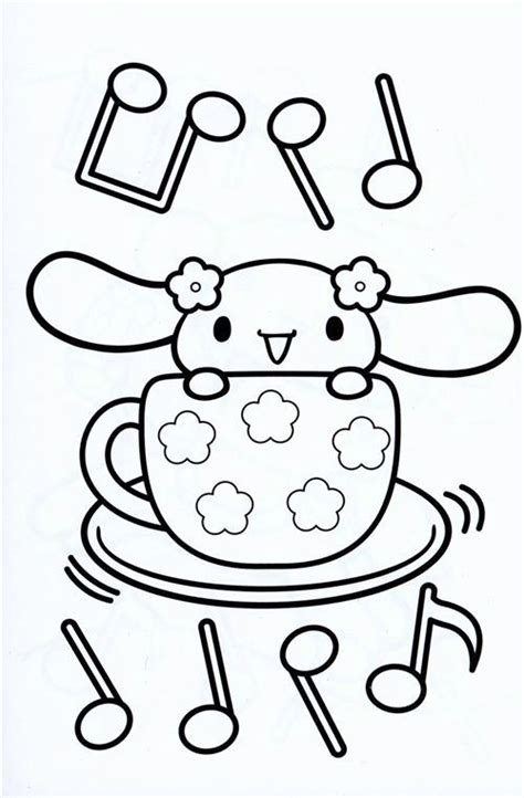 japanese hello kitty coloring pages 1000 images about cinnamoroll by sanrio on pinterest