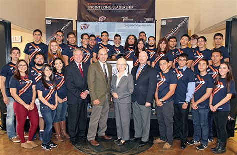 Utep Mba Program by New Degrees Prepare Future Leaders In Engineering And