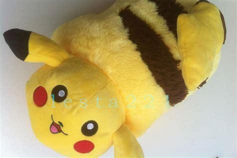 anime pikachu pillow pet transforming sleep car