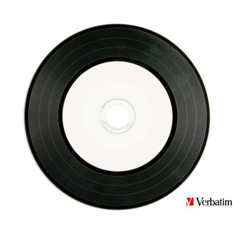 verbatim printable vinyl cd verbatim digital vinyl inkjet cd r