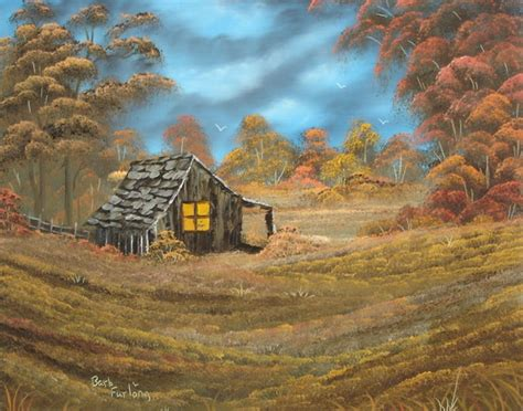 bob ross painting classes seattle home before nightfall 252 by barbara furlong artwanted