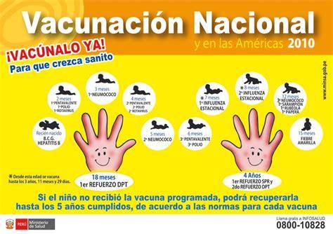 imagenes de la vacunacion en las americas 2016 vacunaci 243 n nacional y en las am 233 ricas ministerio de