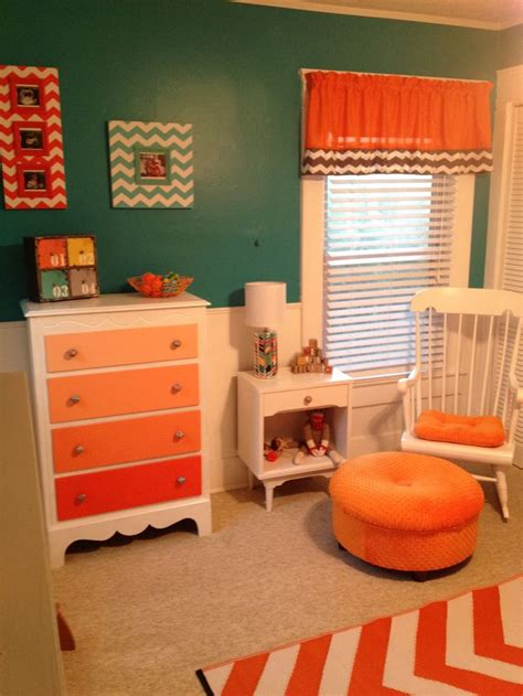 teal kids bedroom 1000 images about orange in the nursery on pinterest dust ruffle lumbar pillow and