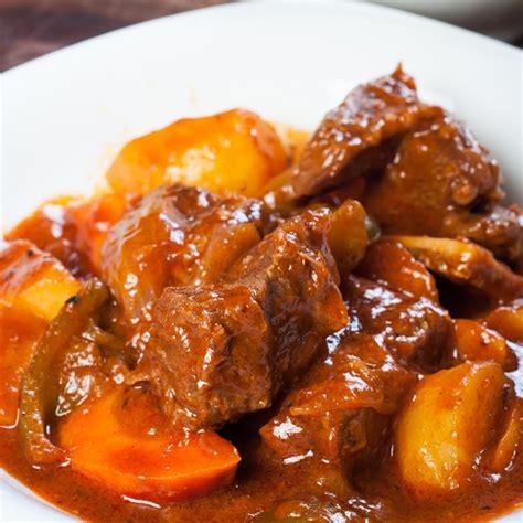 easy crock pot beef stew recipe