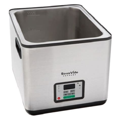 sousvide supreme sous vide supreme water oven svs10ls import it all