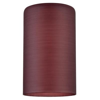 neckless glass shades for light fixtures westinghouse handblown cylinder glass neckless shade