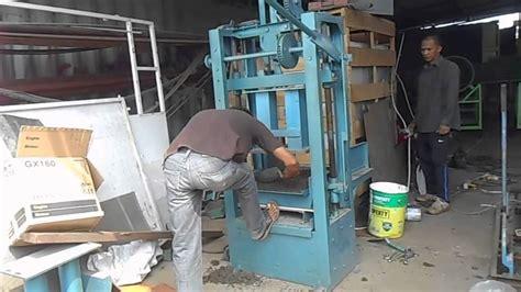 usaha membuat genteng mesin cetak batako murah karya mitra usaha group