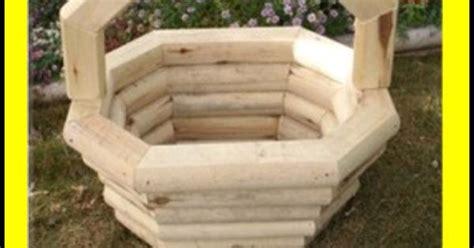 Landscape Timber Basket Planter Plans Free Landscape Timber Oblong Basket Planter Pricelist