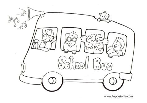 preschool coloring pages school bus school bus coloring pages to download and print for free