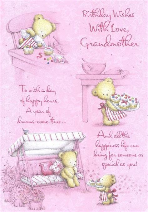 how to make a birthday card for grandmother happy birthday grandmother birthday cards my