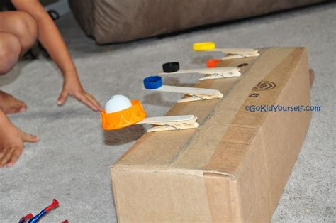 Handmade Catapult - catapult from go kid yourself for the boys