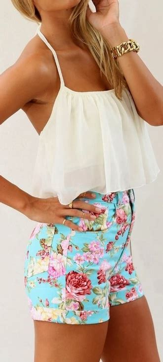 M05252 Tank Top Motif Flowy flowy shorts shop for flowy shorts on wheretoget