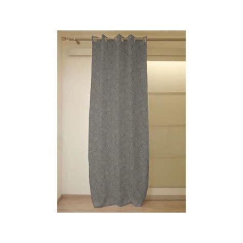 Rideau Occultant 140x180 by Rideau Occultant 224 Oeillets 140x180 Cm Espace Gris Achat