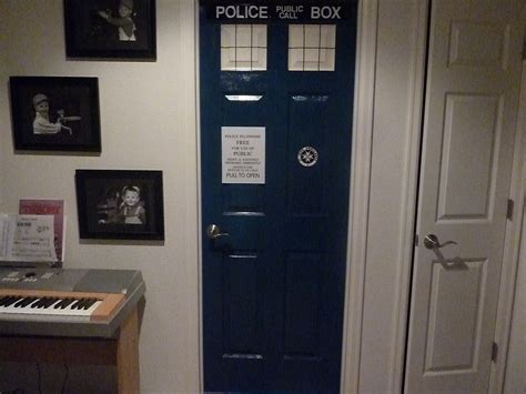 doctor who bedroom door i made a tardis bedroom door without instructions or any guide want to see my take on