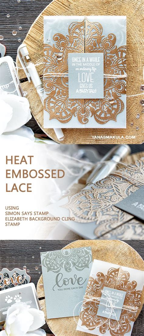 how to use embossing powder with rubber sts 25 best ideas about embossing powder on