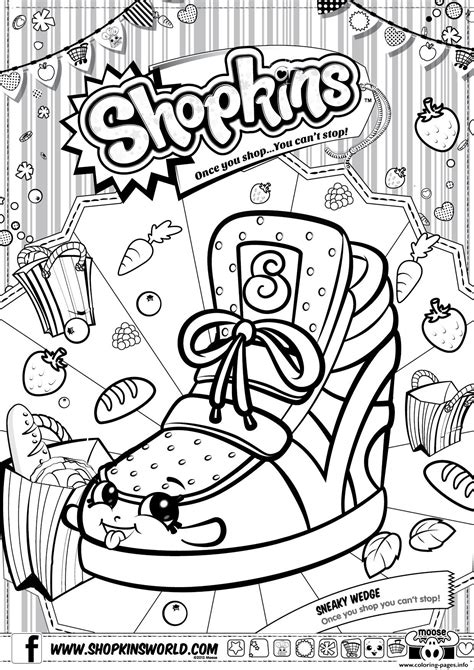 printable shopkins images free coloring pages of shopkins to print