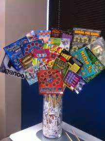 Lottery ticket basket raffle ideas