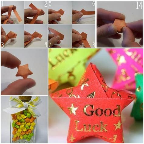 Origami In A Jar Meaning - best 25 origami lucky ideas on