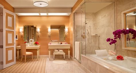 wynn bathroom world s tallest climbing wall opens on the side of a