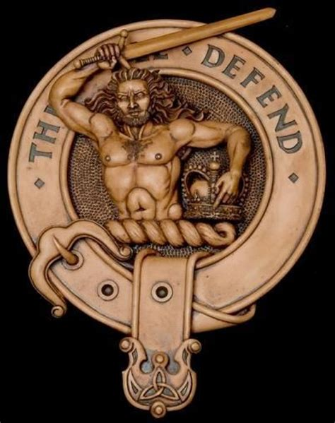 macfarlane clan badge and motto quot this i ll defend