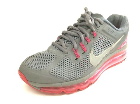 womens shoes nike air running shoes gray size  ebay