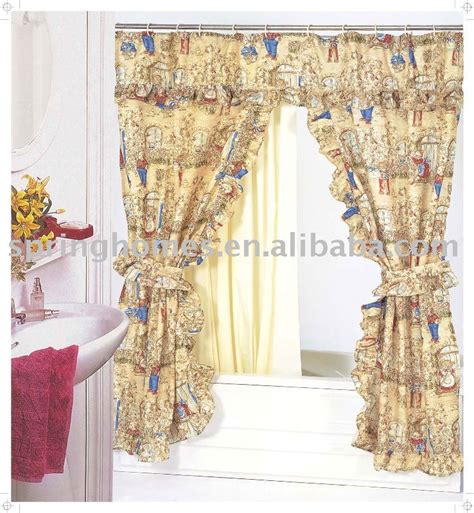 swag shower curtains double swag shower curtain large size of lace cafe