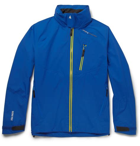 musto sailing evolution goretex sail lite jacket in blue