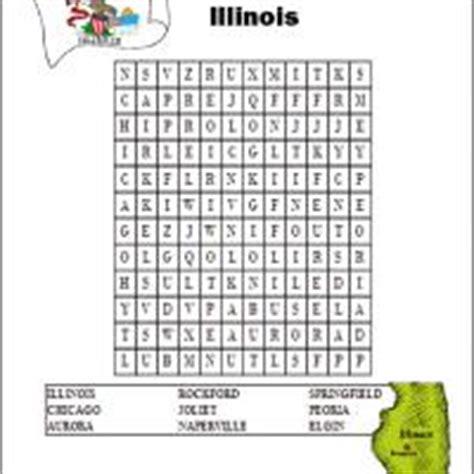 Search Illinois Illinois Word Search