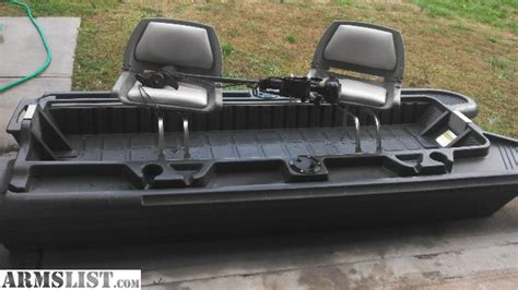bass hunter boats used armslist for sale 10 ft bass hunter boat with trolling