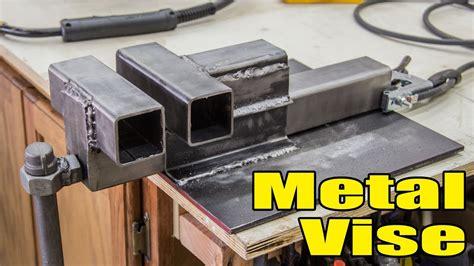 fun making  metal vise  youtube