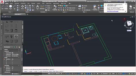 tutorial autocad architecture 2017 how to make floor plan autocad 2017 escortsea