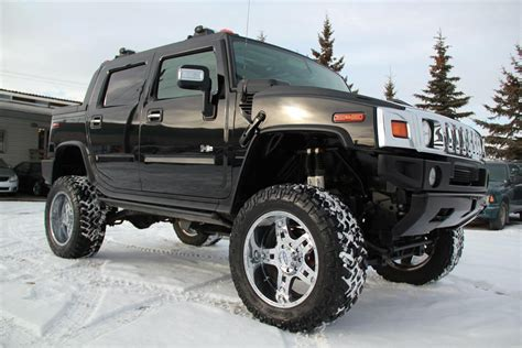 monster hummer 2005 hummer h2 sut monster 9inch lift 37in tires suv