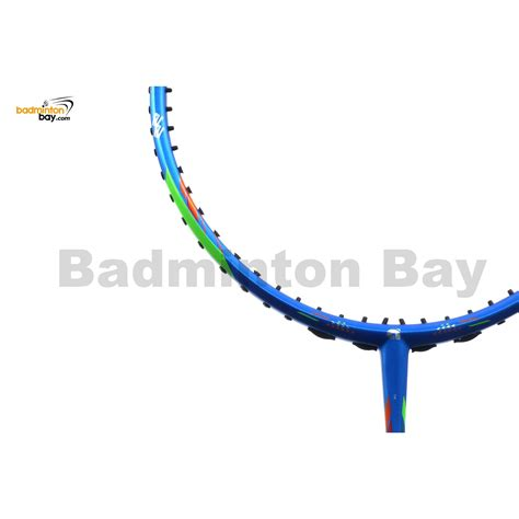 Apacs Blend 6000 Blue 4u Badminton Racket Racquet Free Stringing Pu apacs ferocious 22 blue badminton racket 4u world