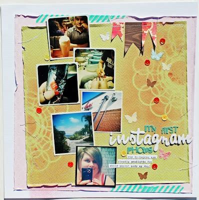 instagram scrapbook layout 32 best images about cool scrapbook layouts random on