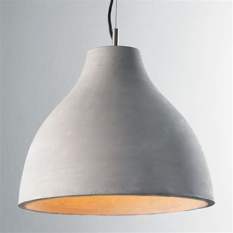 Shades Of Light Pendants Large Concrete Dome Pendant Shades Of Light