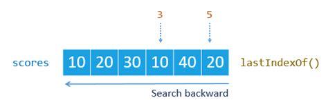 javascript pattern matching lastindex javascript array indexof and lastindexof locating an
