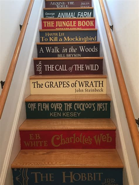 woman paints staircase   covers   favorite