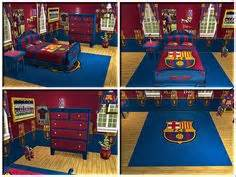 Fc Barcelona Room by Murrizs Room On Fc Barcelona Camo Bedding And