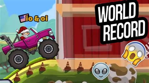hill climb racing monster hill climb racing 2 world record in countryside with