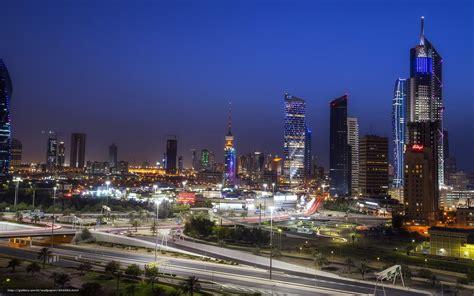 kuwait city download wallpaper kuwait city night free desktop